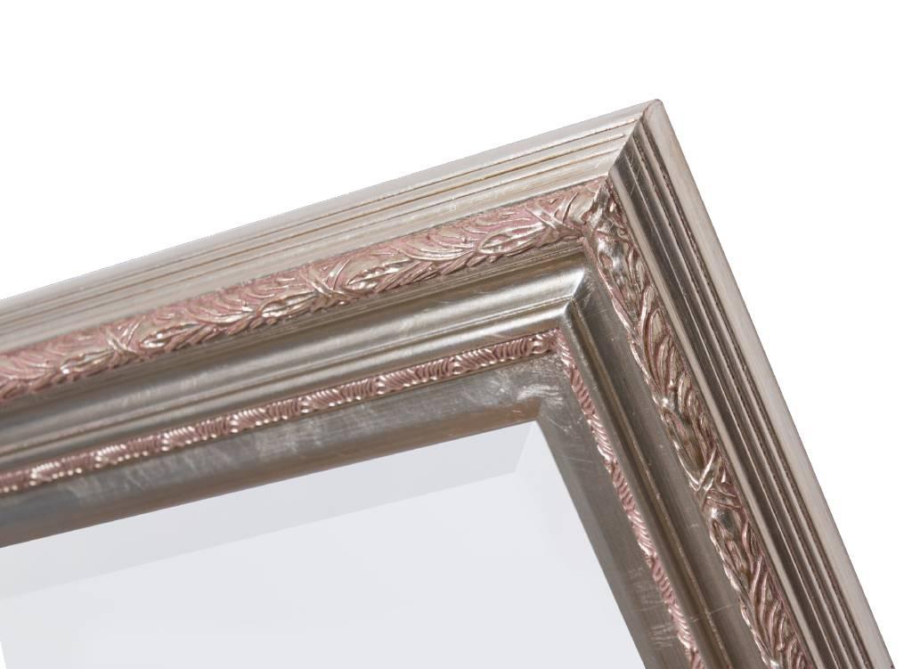 Montpellier - sfeervolle spiegel met zilveren lijst