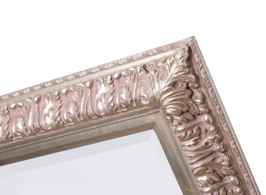 zaragoza spiegel met barok zilveren lijst kunstspiegel. Black Bedroom Furniture Sets. Home Design Ideas