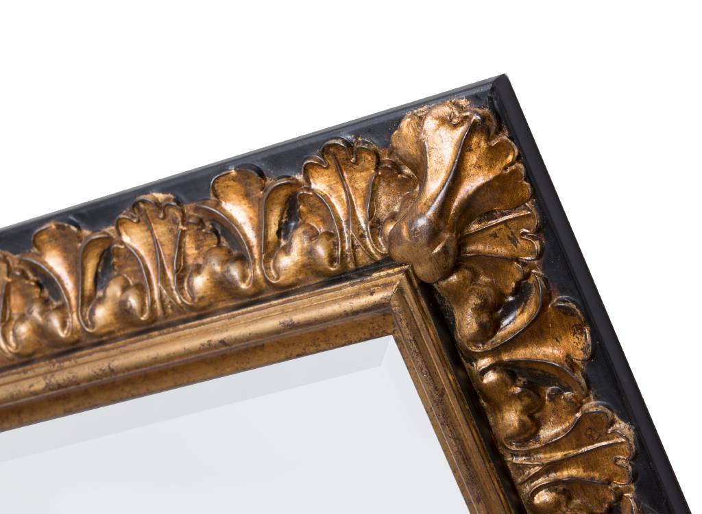 Padua - barokspiegel - goud/zwart