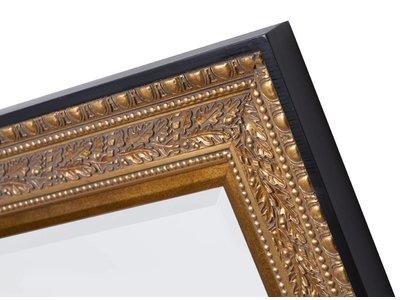 La Spezia - spiegel - goud met zwarte rand