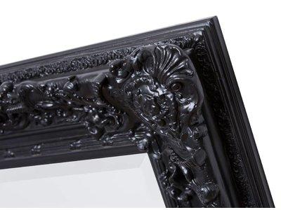 Palermo - barokspiegel - zwart
