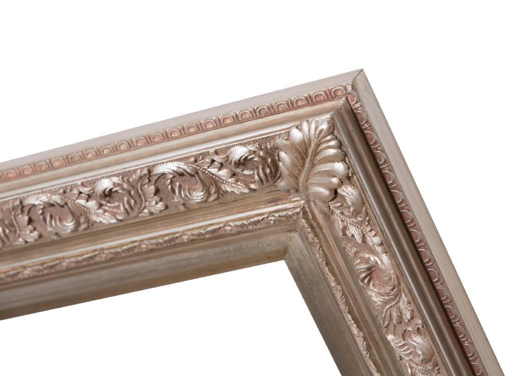 Savona - zilveren barok lijst met ornament