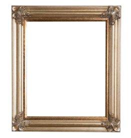 Valencia - Zilveren klassieke lijst van hout