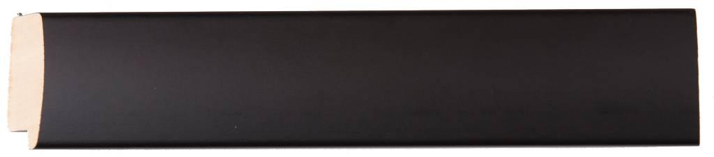 Frascati - Moderne Spiegel in Frame met Bescheiden Bolling - Kleur Zwart