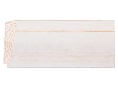 Nantes - witte houten lijst