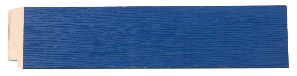 Xabia - spiegel - blauw/hout