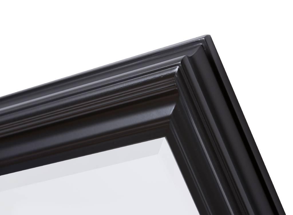 Brescia - spiegel - zwart