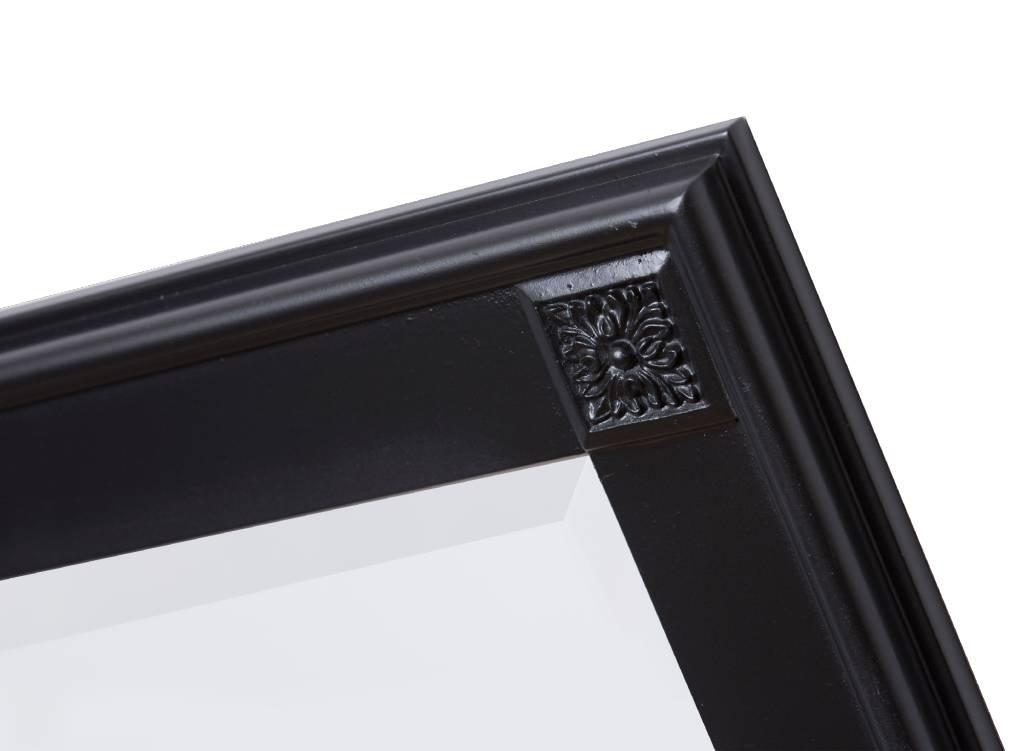 Palma - spiegel met unieke zwarte lijst