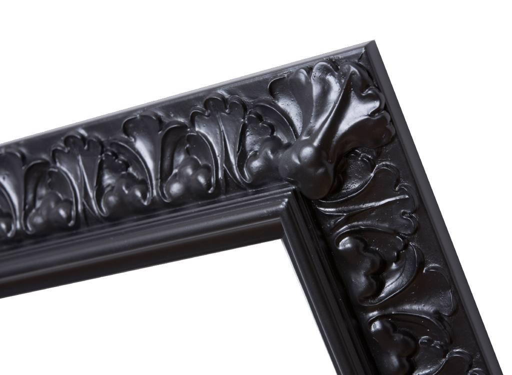 Padua - zwarte barok lijst