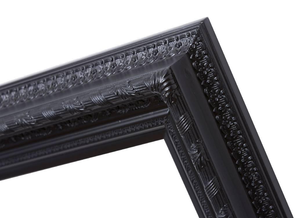 Vigo - zwarte lijst met ornament