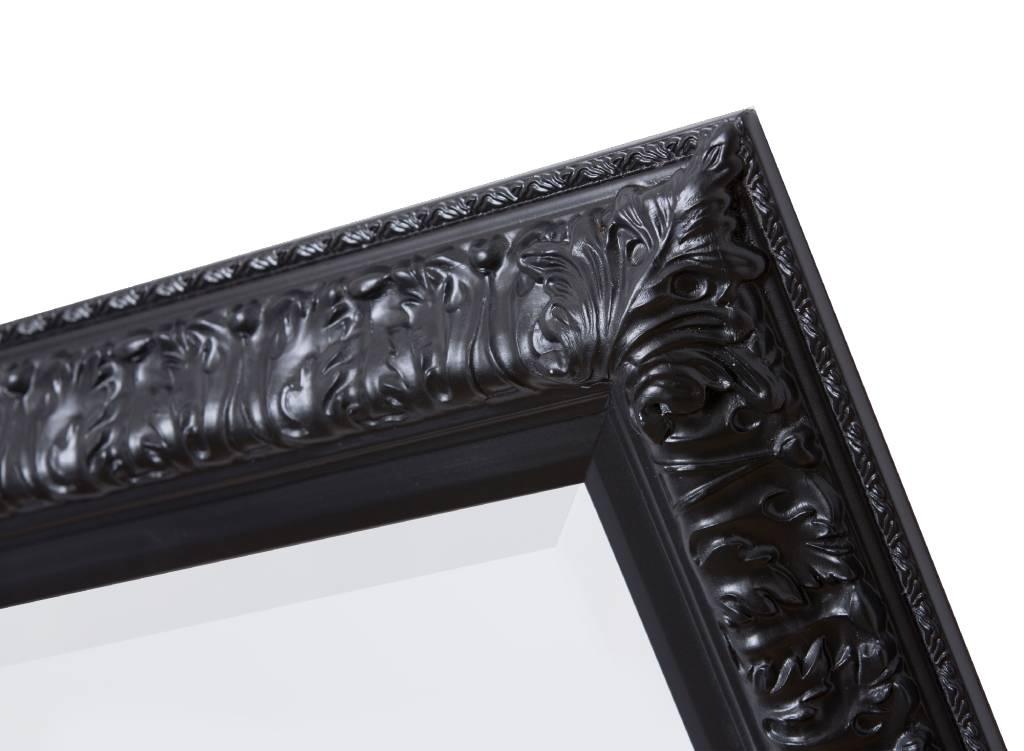 Zaragoza - Zwart (met spiegel)