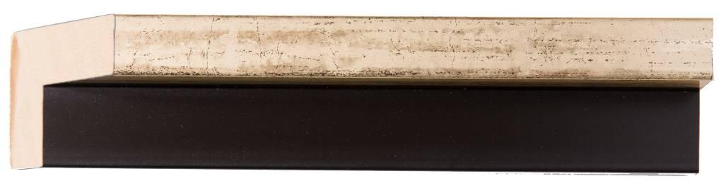 San Rocco - Smalle Baklijst voor Doek en Paneel - Kleur Goud
