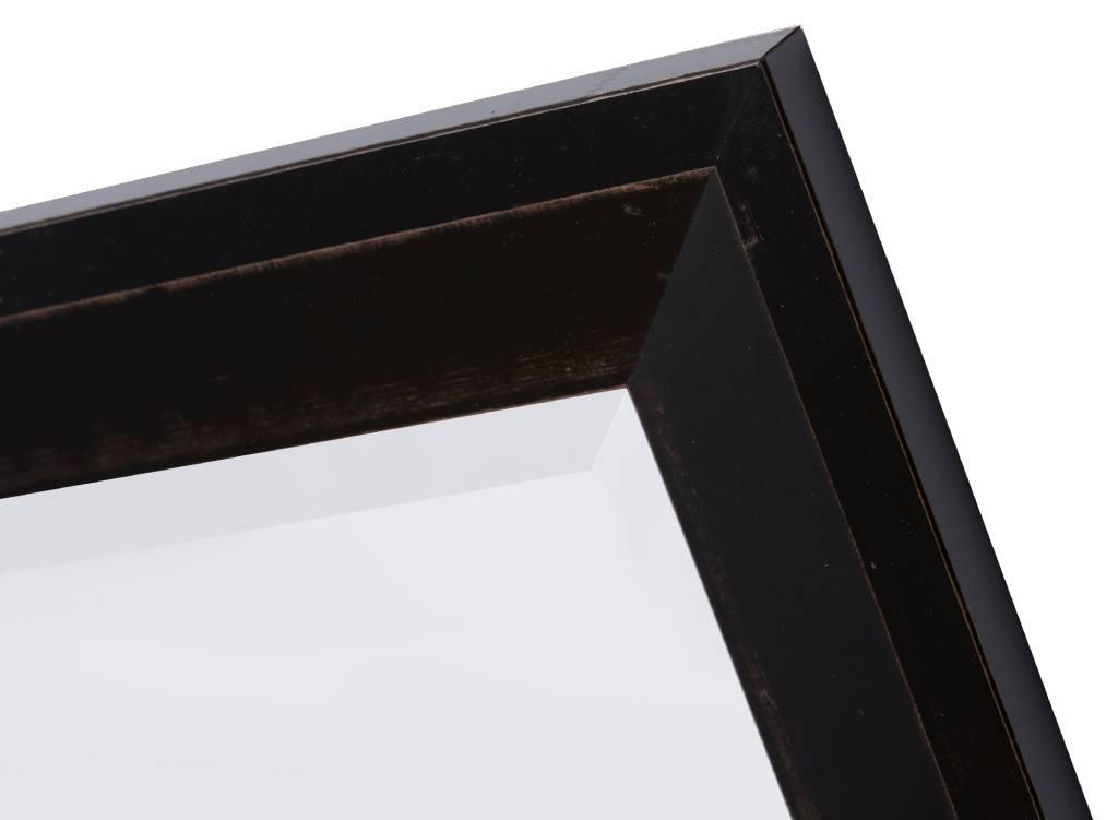 Nantes - spiegel - zwart