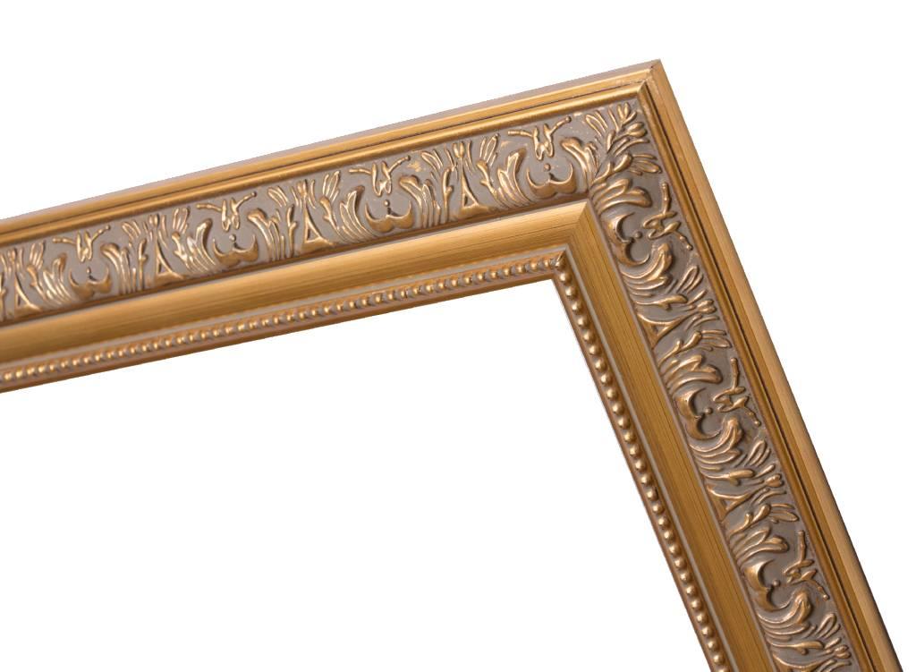 palmi barok lijst goud gekleurd frame kunstspiegel. Black Bedroom Furniture Sets. Home Design Ideas