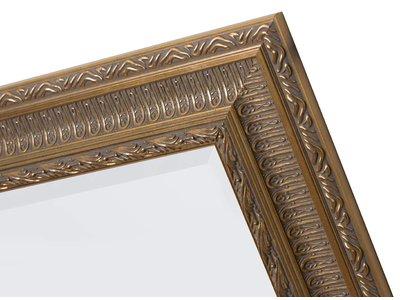 Nyons spiegel met gouden barok lijst met ornament