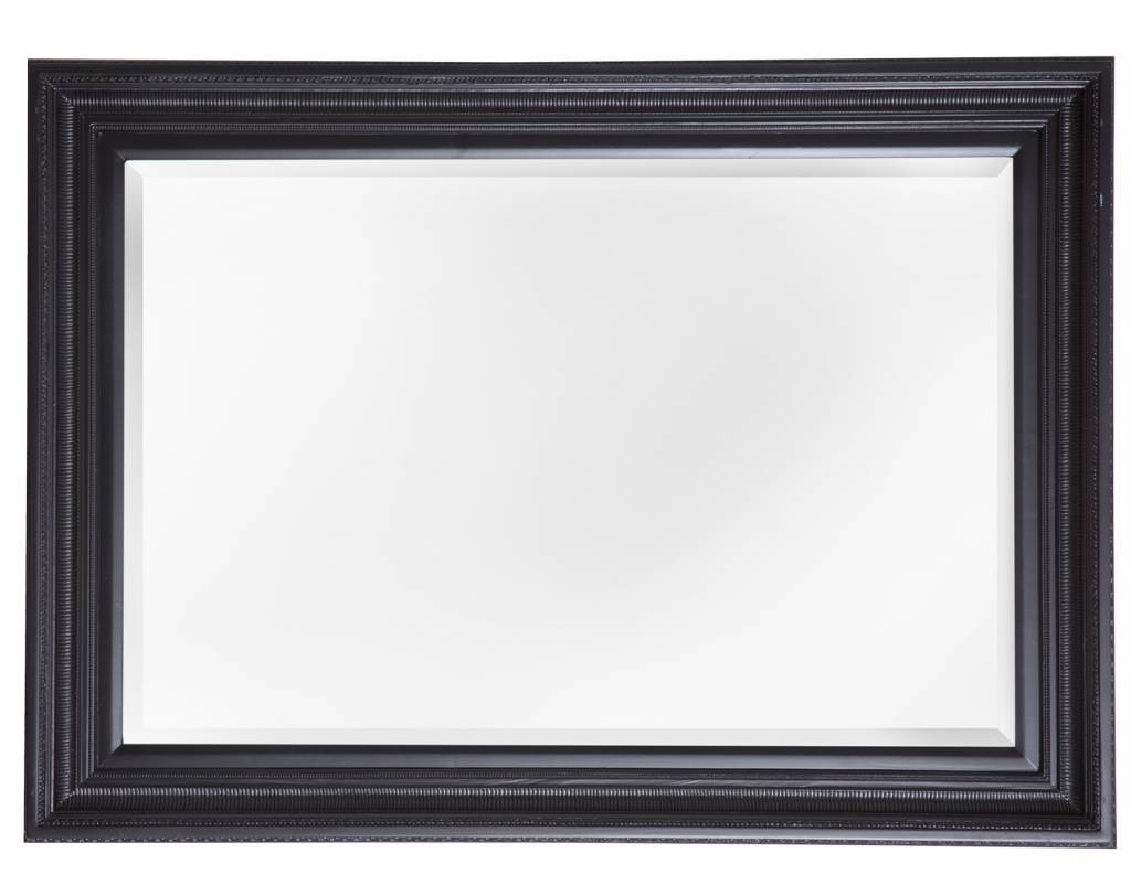 Lyon spiegel met barok zwarte lijst