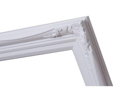 Verona - witte lijst van hout