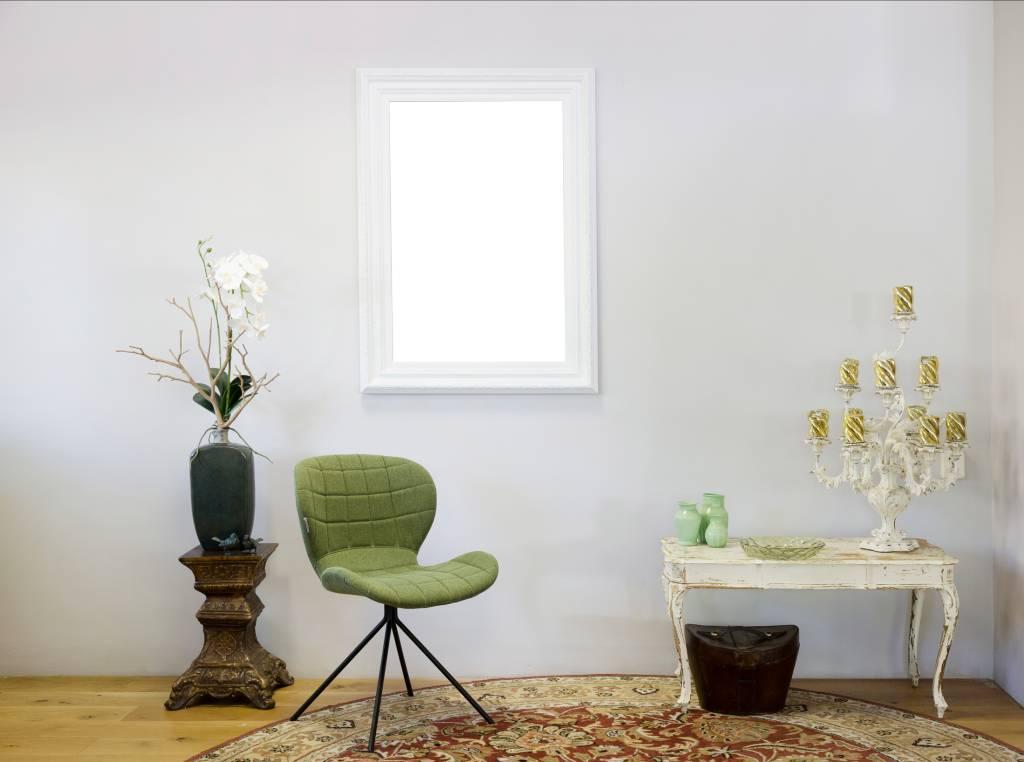 Montpellier - Brede Klassieke Lijst  - Kleur Wit