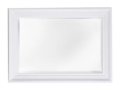 Lyon spiegel met barok witte lijst