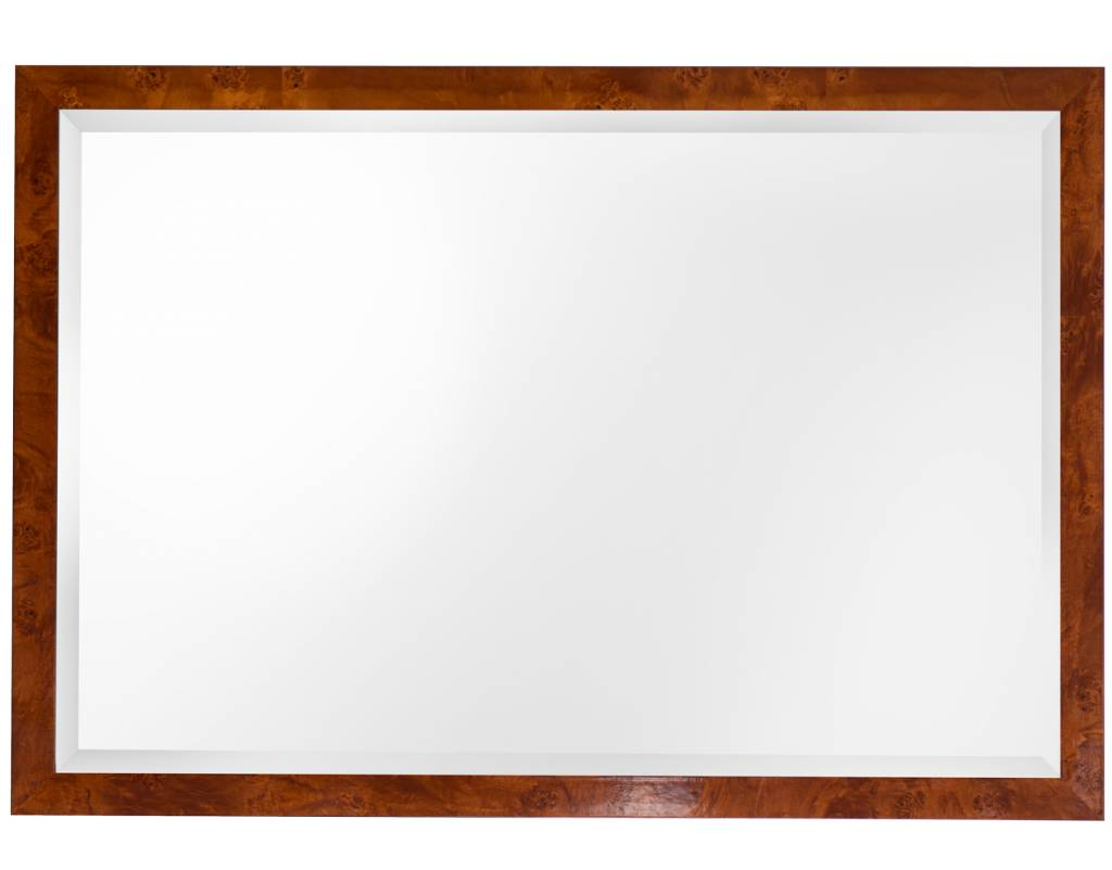 Troyes - spiegel - notenhout