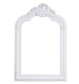 Parijs - Spiegel met witte barok lijst