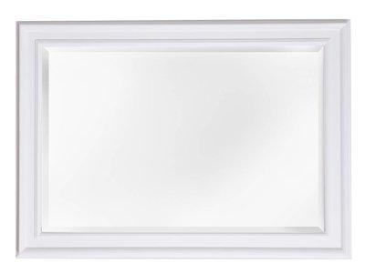 Sevilla spiegel met unieke witte lijst