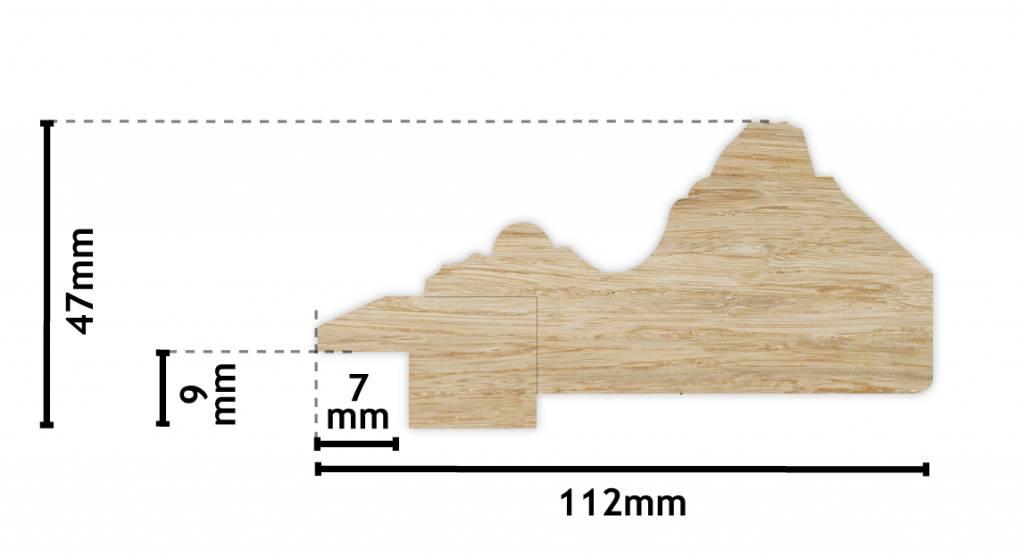 Montpellier - Gouden lijst van hout