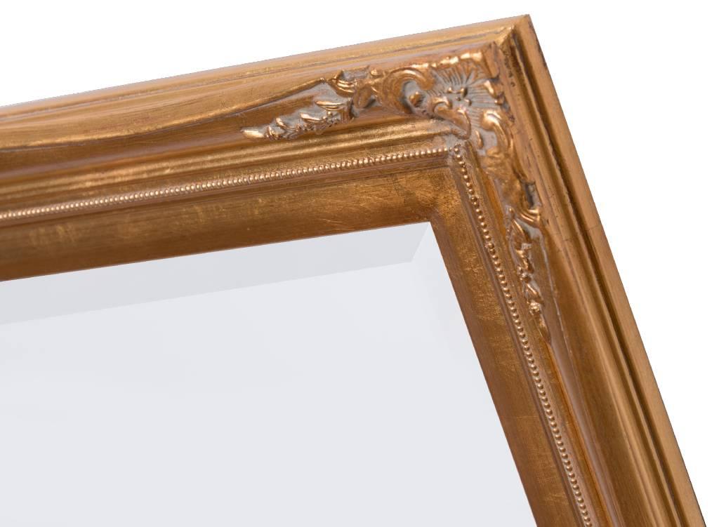 Verona - Klassieke Barok Spiegel met Dubbele Rand - Gouden Frame