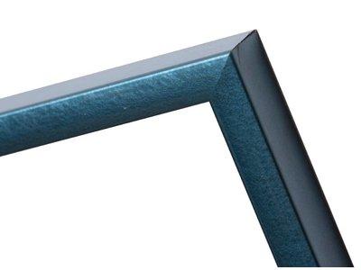Perugia - Metallic Blauw