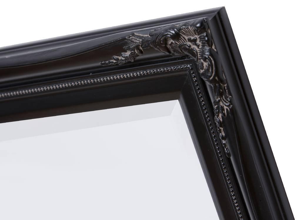 Verona spiegel met klassieke zwarte lijst