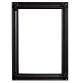 Valencia - zwarte klassieke lijst van hout