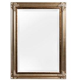 Valencia - spiegel met zilveren lijst