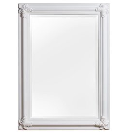 Valencia - spiegel met witte lijst