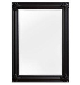 Valencia - spiegel met zwarte lijst