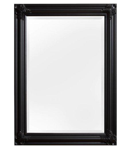 Grote unieke assortiment spiegels for Spiegel met zwarte lijst