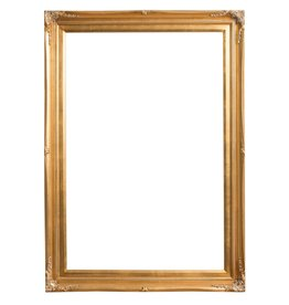 Verona - Gouden lijst van hout