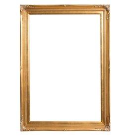 Verona - Klassieke Barok Lijst met Dubbele Rand - Goud Gekleurd
