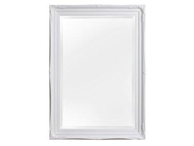Verona - Klassieke Barok Spiegel met Dubbele Rand - Wit Frame