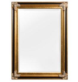 Valencia - Klassieke Barok Spiegel - Goud met Zwart Frame