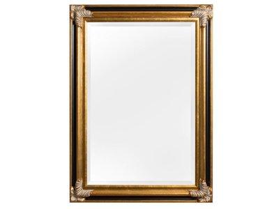 Valencia - spiegel - goud/zwart