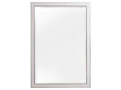 Hamburg - spiegel - wit/zilver