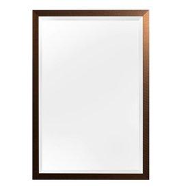 Mariotto - spiegel met geborstelde bronzen lijst