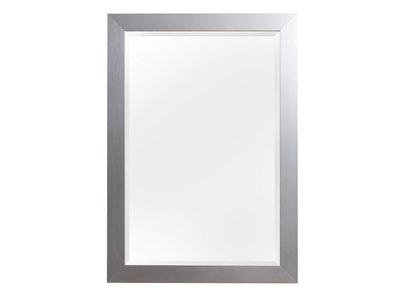 Bettola - spiegel - geborsteld zilver