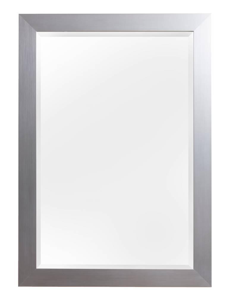 Bettola spiegel met zilveren lijst for Grote zilveren spiegel