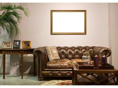 Asti - gouden lijst van hout