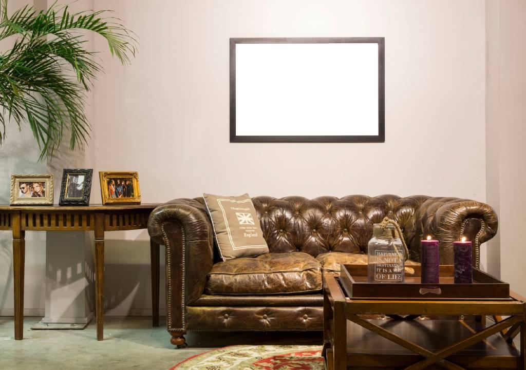 Barletta - Moderne Strakke Lijst - Kleur Roestvrij Staal (RVS)