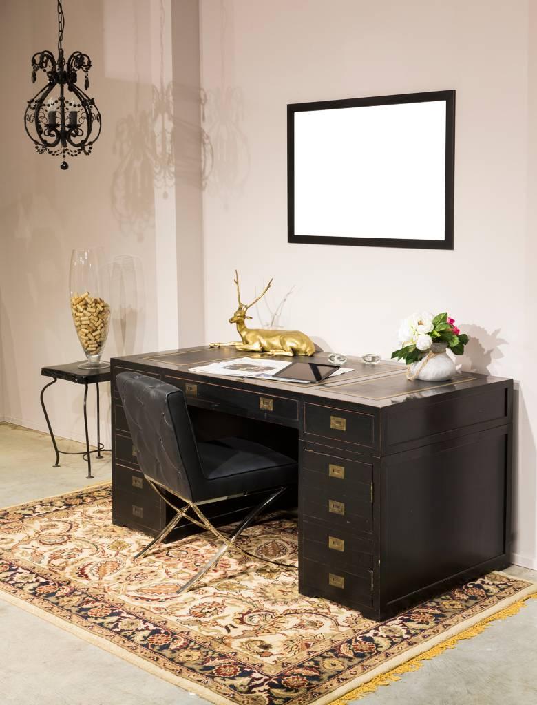New York - Strakke Moderne Designlijst - Zwart Gekleurd