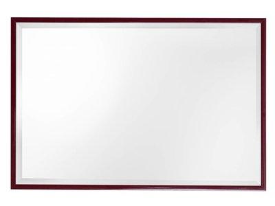 Perugia - spiegel - donkerrood