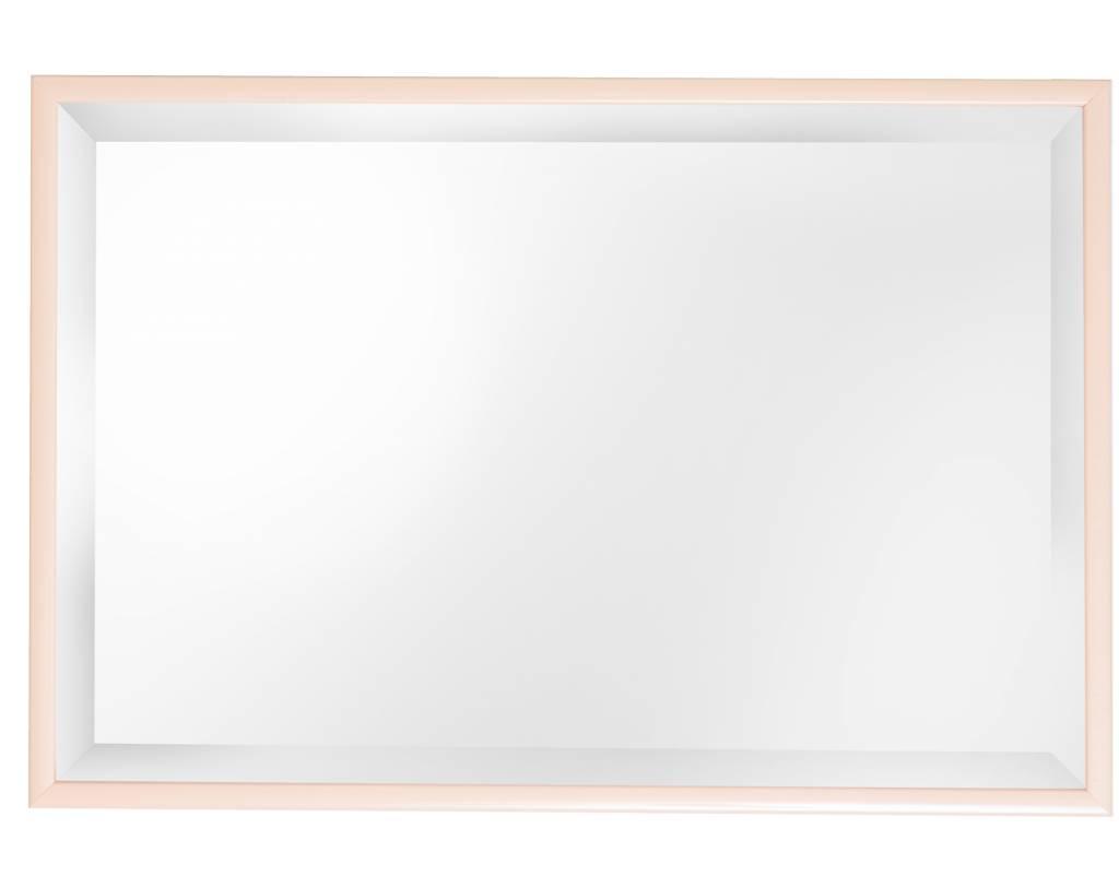 Perugia spiegel met diepe lijst in het crème