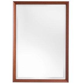 Estepona - sfeervolle spiegel met houten lijst